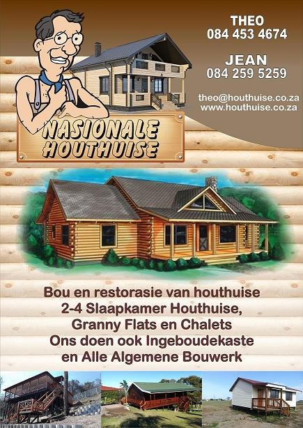 Nasionele Houthuise - Houthuise, Granny Flats, Chalets